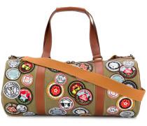 Reisetasche mit Patches