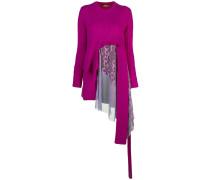'Trine' Pullover mit Zopfmuster