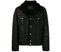 Shearling-Jacke mit Brusttaschen