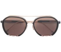 Sonnenbrille mit Metallverzierung