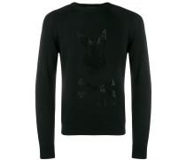 X Playboy Sweatshirt mit Kristallen