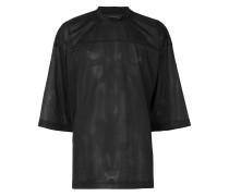 T-Shirt in Netz-Optik