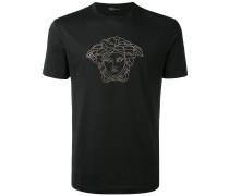 T-Shirt mit Swarovski-Kristallen