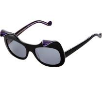 Sonnenbrille mit Designer-Gestell