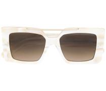 Quadratische Oversized-Sonnenbrille