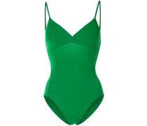 Triangle one-piece swimsuit