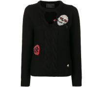 'Holfan' Pullover mit Zopfmuster