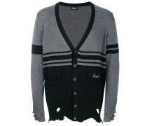 'Kobain' Distressed-Cardigan