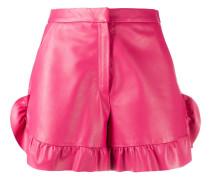 Klassische Leder-Shorts