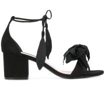 ankle tie flower sandals