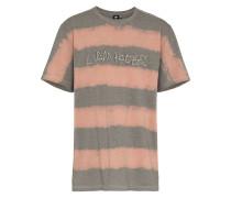 T-Shirt mit Batikstreifen