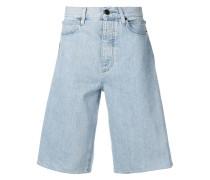 Jeans-Shorts mit Print