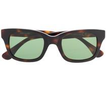 Eckige 'API' Sonnenbrille