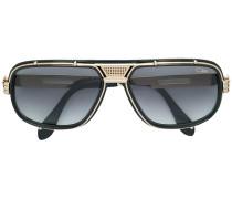 Zweifarbige Sonnenbrille
