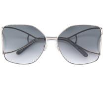 Sonennbrille im Oversized-Design