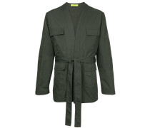cargo pocket military jacket