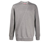 A-COLD-WALL* Sweatshirt mit diagonaler Naht