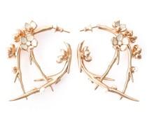 'Cherry Blossom' Ohrringe aus Vermeil