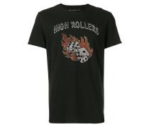 T-Shirt mit Würfel-Print