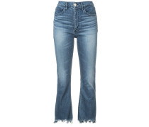 'Empire Bell' Cropped-Jeans