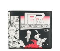 Portemonnaie mit Comic-Print