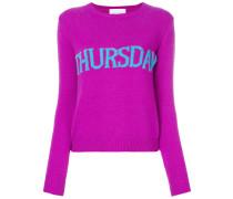 'Thursday' Intarsien-Pullover