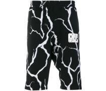 Shorts mit 'Blitz'-Print
