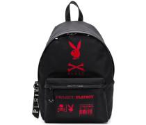x Playboy Rucksack mit Logos