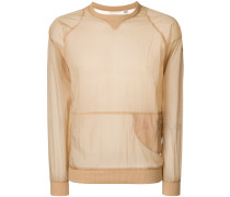 Reebok x  sheer side zip sweatshirt
