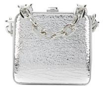 Clutch im Metallic-Look