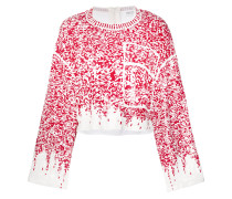 sequin embroidered jumper