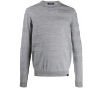 Pullover mit Jacquard-Streifen