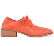 Derby-Schuhe mit Blockabsatz