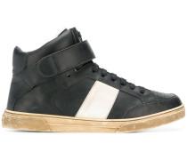 High-Top-Sneakers mit Kontraststreifen