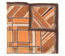 Schal mit abstraktem Print