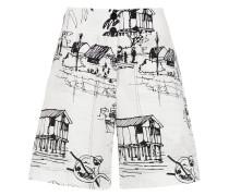 'Fiel' Shorts mit Print