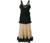 frilled flared dress