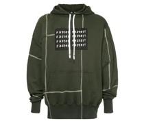 faster panelled hoodie