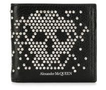 Portemonnaie mit Totenkopfmotiv