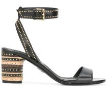 studded heel sandals