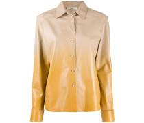 Hemdjacke mit Farbverlauf