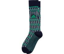 Jacquard-Socken