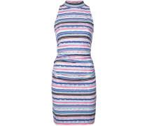Gestreiftes Neckholder-Kleid