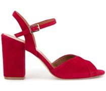 Klassische Peeptoe-Sandalen
