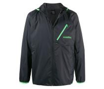 Blackout hooded jacket
