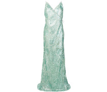 sequin embroidered Zita gown