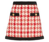Minirock aus Tweed