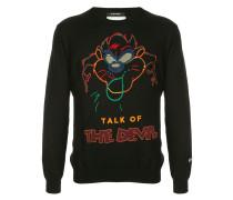 'Talk of the Devil' Pullover