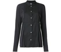 panel button shirt
