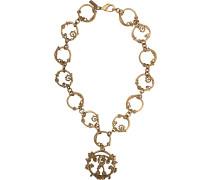 Halskette mit doppeltem Fragezeichen